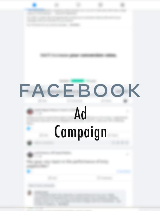 Facebook ads campaign product